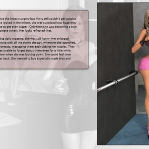 Dollproject Comics The Office Bimbo - Issue 2 gallery image-033