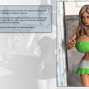 Dollproject Comics The Office Bimbo - Issue 2 gallery image-037