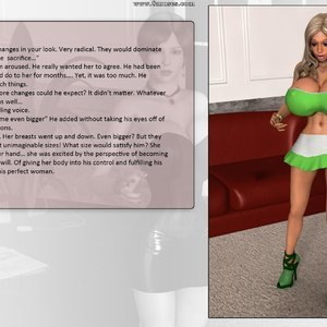 Dollproject Comics The Office Bimbo - Issue 2 gallery image-039