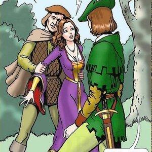 Robin Hood Drawing Palace Comics