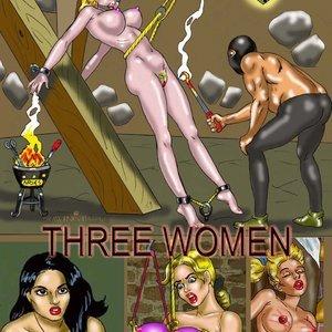 Three Women Drawing Palace Comics
