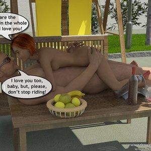 Drawingincest Comics Tan stick feels better with father gallery image-025
