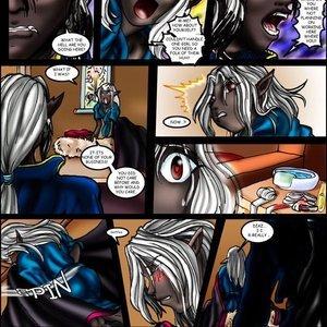 Drowtales Comics Chapter 3 - Demon Love Return gallery image-010