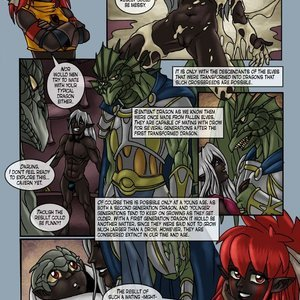 Drowtales Comics Chapter 5 - Ask a Drow gallery image-002