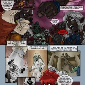 Drowtales Comics Chapter 5 - Ask a Drow gallery image-003