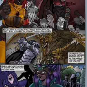 Drowtales Comics Chapter 5 - Ask a Drow gallery image-007