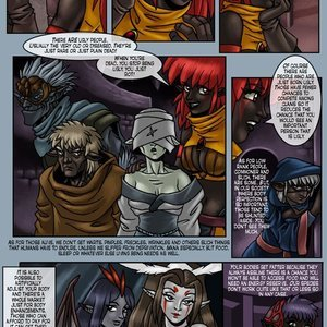 Drowtales Comics Chapter 5 - Ask a Drow gallery image-009