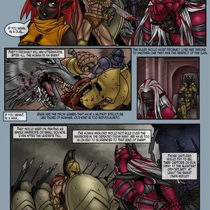 Drowtales Comics Chapter 5 - Ask a Drow gallery image-010