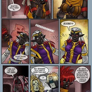 Drowtales Comics Chapter 5 - Ask a Drow gallery image-012
