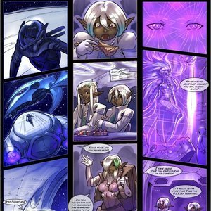 Drowtales Comics Space Age - Issue 2 gallery image-024