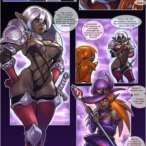 Drowtales Comics Space Age - Issue 2 gallery image-027