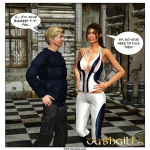 Dubh3d-Dubhgilla Comics Angelina - The Fan gallery image-002