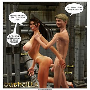 Dubh3d-Dubhgilla Comics Angelina - The Fan gallery image-010