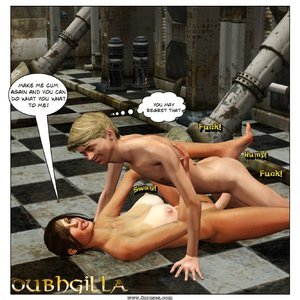 Dubh3d-Dubhgilla Comics Angelina - The Fan gallery image-014