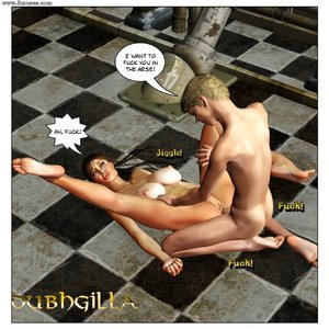 Dubh3d-Dubhgilla Comics Angelina - The Fan gallery image-017
