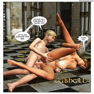 Dubh3d-Dubhgilla Comics Angelina - The Fan gallery image-020