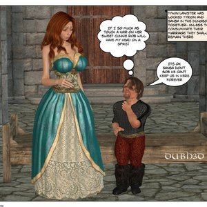 Sansa and Tyrons Consummation Dubh3d-Dubhgilla Comics