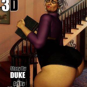 Ms Jiggles – Issue 1 DukesHardcoreHoneys Comics