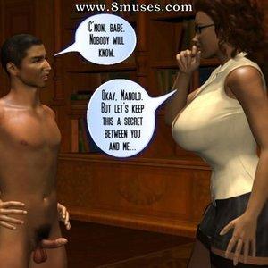 DukesHardcoreHoneys Comics The Secret of the Teacher Azalea - Issue 2 gallery image-004