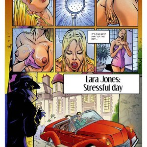 Lara Jones – Stressful Day EROS Comics