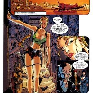 Lara Jones – The Treasure of Osiris EROS Comics