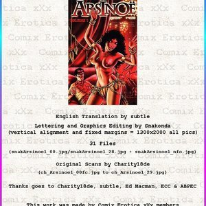 Arsinoe – Issue 1 (Eurotica Comics) thumbnail