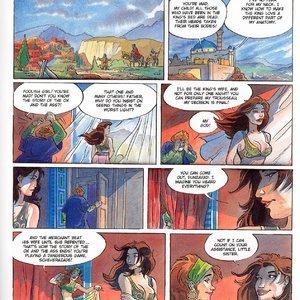 Eurotica Comics The 1001 Nights Of Scheherazade gallery image-010