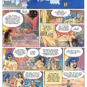 Eurotica Comics The 1001 Nights Of Scheherazade gallery image-011