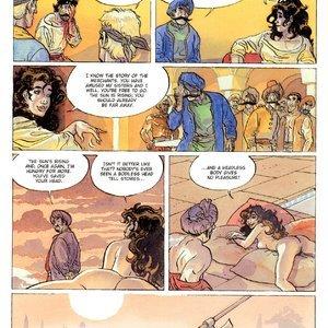 Eurotica Comics The 1001 Nights Of Scheherazade gallery image-055