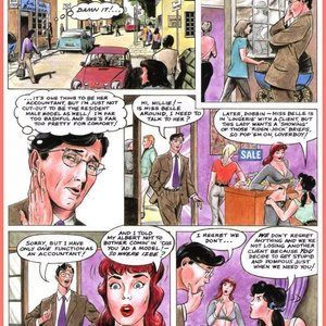 Eurotica Comics The Lady and the Vampire gallery image-003
