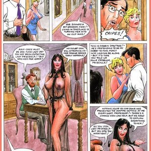 Eurotica Comics The Lady and the Vampire gallery image-014