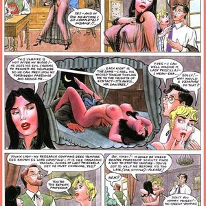 Eurotica Comics The Lady and the Vampire gallery image-015