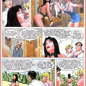 Eurotica Comics The Lady and the Vampire gallery image-016