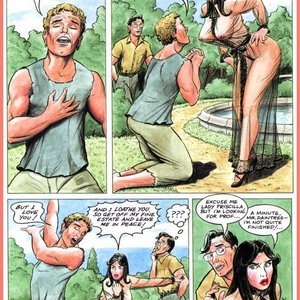 Eurotica Comics The Lady and the Vampire gallery image-019