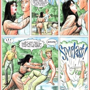 Eurotica Comics The Lady and the Vampire gallery image-020