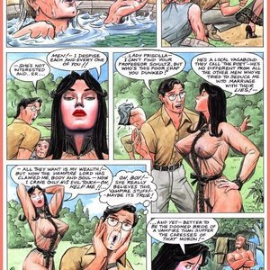 Eurotica Comics The Lady and the Vampire gallery image-021