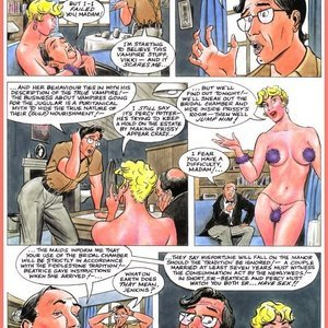 Eurotica Comics The Lady and the Vampire gallery image-025