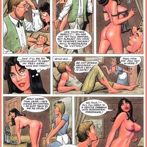 Eurotica Comics The Lady and the Vampire gallery image-030