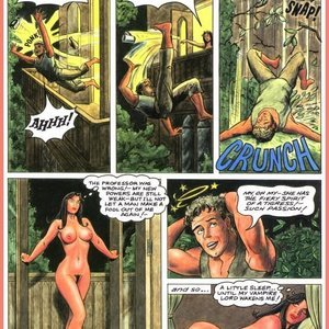 Eurotica Comics The Lady and the Vampire gallery image-033