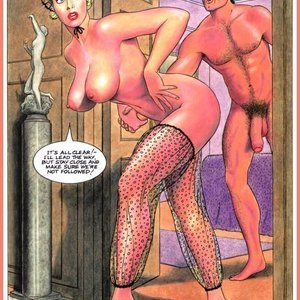 Eurotica Comics The Lady and the Vampire gallery image-039