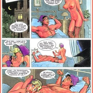 Eurotica Comics The Lady and the Vampire gallery image-045