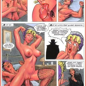 Eurotica Comics The Lady and the Vampire gallery image-046