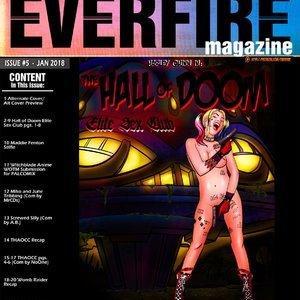 Hall of Doom Elite Sex Club Everfire Comics