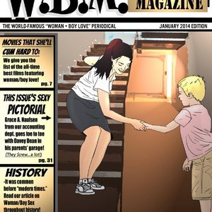 Woman Boy Magazine Everfire Comics