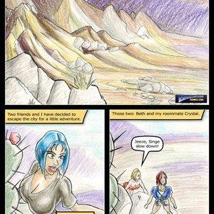 La Cascada Seca Expansion Comics