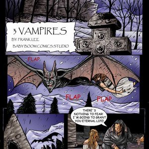 Three Vampires Expansion Comics