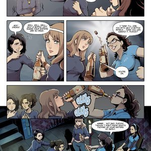 Expansionfan Comics Sorority Problems - Issue 1 gallery image-005