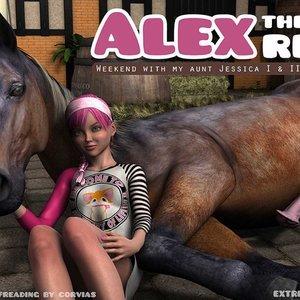 Alex The Young Rebel ExtremeXWorld Comics