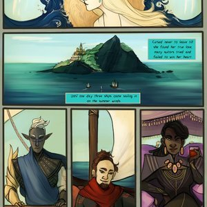 Filthy Figments Comics Between the Wind and Sea gallery image-002