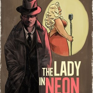 The Lady in Neon – A Bentley Jones Mystery (Filthy Figments Comics) thumbnail